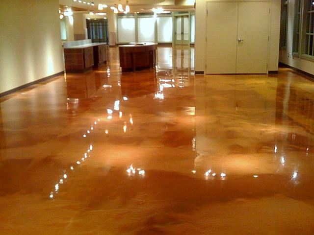Beautiful Floors stamp n stone epoxy